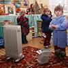 В детских садах мерзнут дети